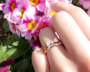 【Styling Vol.5】忘れられない可愛いさ。結婚指輪&婚約指輪のコーディネイト